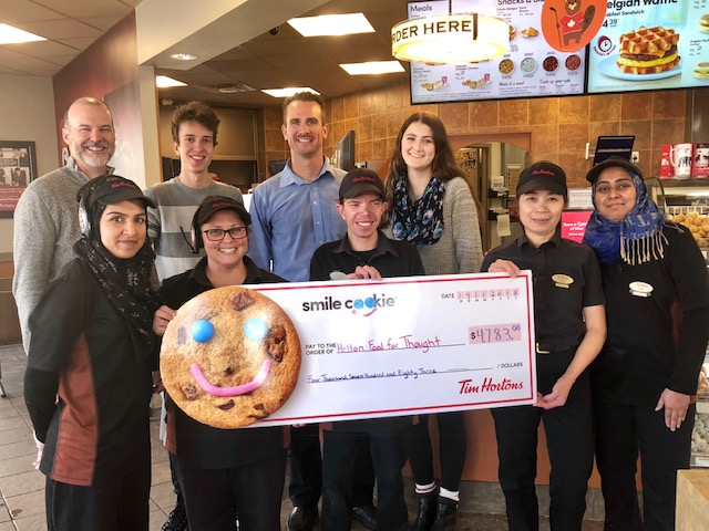 Tim Hortons supports Halton Food for Thought Student Nutrition!