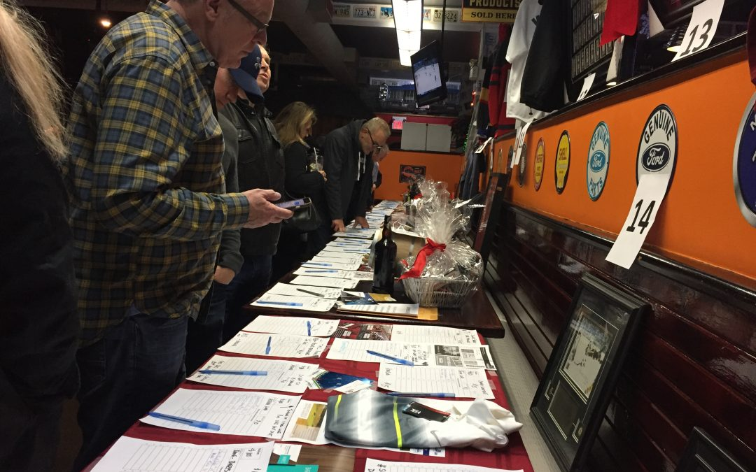 Joe Dog's Silent Auction in support of 4 Halton Food for Thought Burlington SNPs raises close to $15,000!
