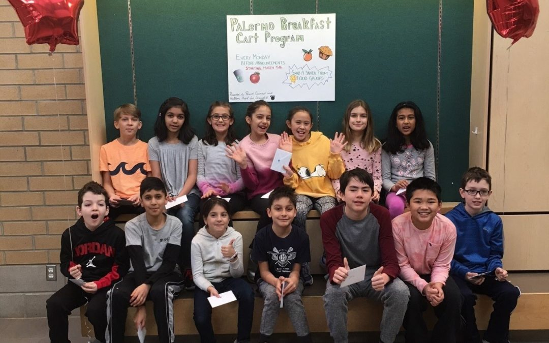 The evolution of Palermo Public School's Breakfast Cart Program