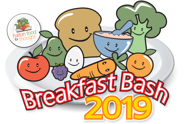 Halton Food for Thought Breakfast Bash 2019 is coming Friday May 3, 2019!