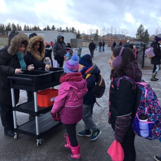 Check out Anne J MacArthur Public School's Blacktop Breakfast!