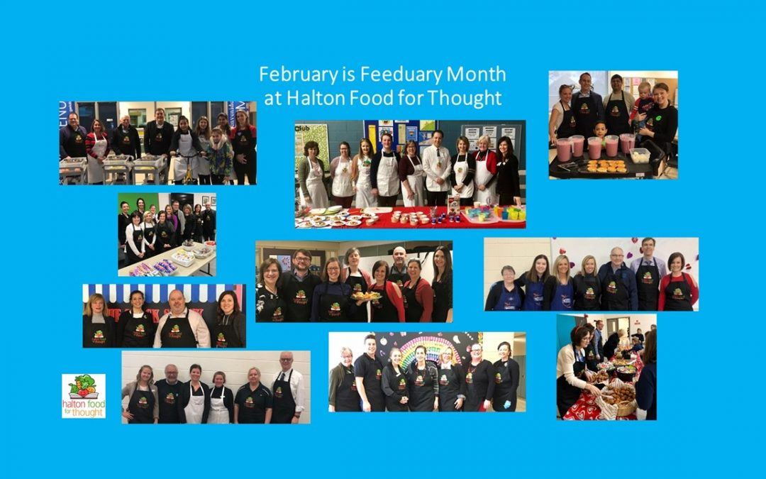 February is Feeduary Month at Halton Food for Thought