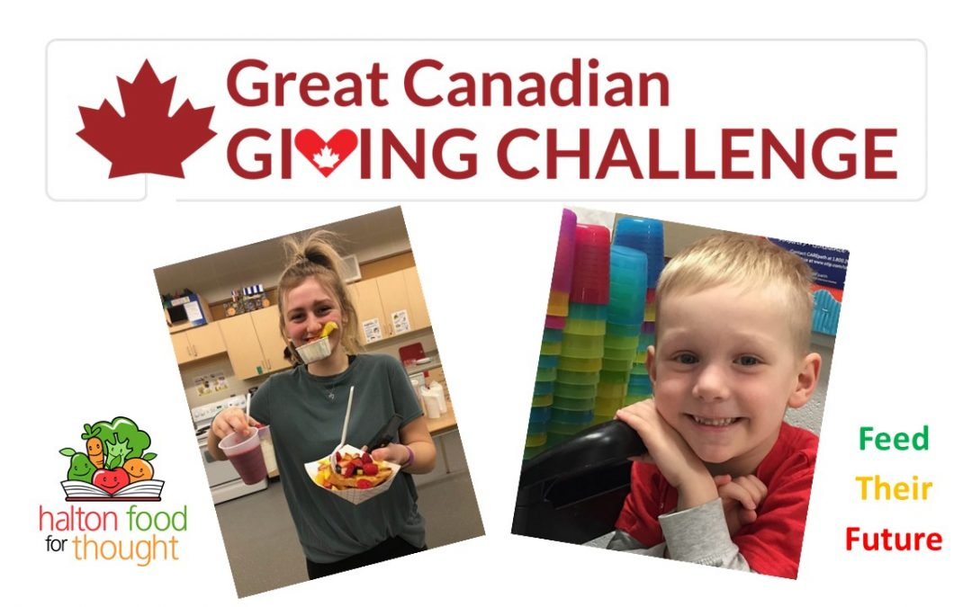 Have you heard of The Great Canadian Giving Challenge?