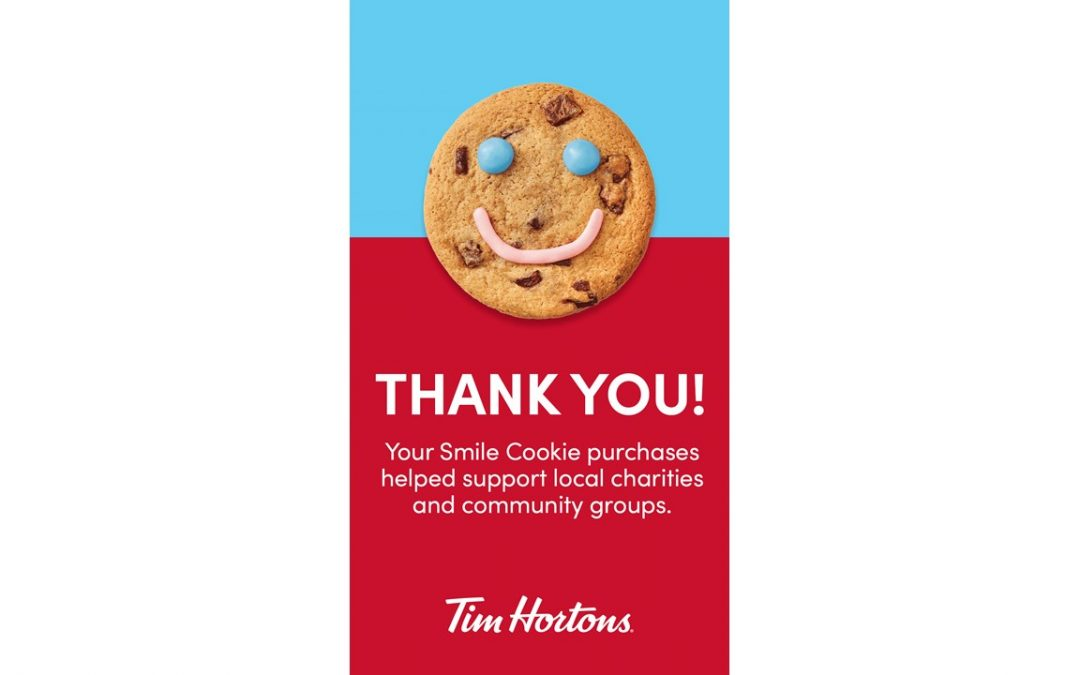 Tim Hortons #SmileCookie Campaign 2021 is a wrap!